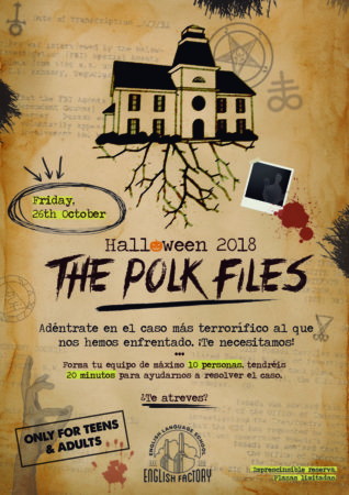 "Halloween 2018: ""The Polk Files"""